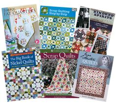 WIN 6 brand-new books from The Quilter Magazine! Expires July 7, 2014.