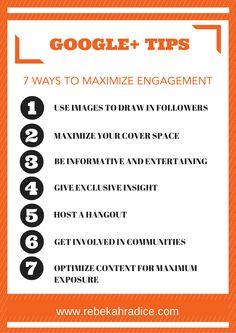 7 Google+ Tips to Create Maximum Engagement