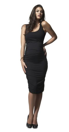 LBMD (little black maternity dress)