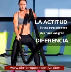 La actitud es una pequeña cosa que hace una gran diferencia.  http://www.ola-laropadeportiva.com/  #Actitud #Éxito #Colombia #Bogotá #Medellín