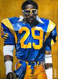 Los Angeles Rams RB Eric Dickerson