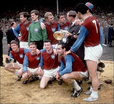 GREENWOOD'S GLORY BOYS... West Ham's 1964 FA Cup winning team