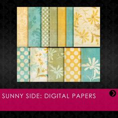 """Use these high-quality papers to enhance your prints, projects, and promotional materials!     This download includes twelve, 12""""x12"""" papers."""