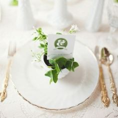 An Irish inspired wedding board in honour of Saint Patrick's Day (image via Twig and Thistle)