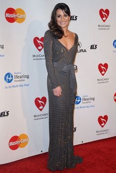 Lea Michele in MusiCares 2011 Person of the Year Tribute