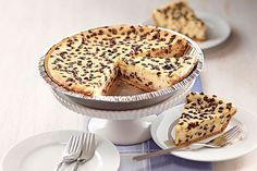 It's hard to believe—but true—that this glorious chocolate chip cheesecake can be assembled in just 3 steps and 10 minutes.