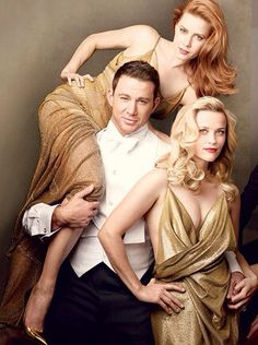 Amy Adams, Channing Tatum, Reese Witherspoon, by Annie  Leibovitz