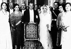 Atatürk adoptive daughter's wedding ceremony Nebile, January 17 1929