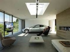 Modern Garage Design - Currently, folks just cannot live without technological innovation. Every part of our existence is now becoming more intelligent. It's also showing in garage design. Garage House, Dream Garage, Car Garage, Garage Room, Garage Plans, Garage Ideas, Carport Plans, Garage Art, Barn Plans