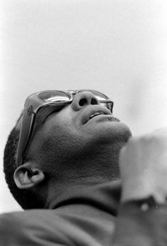 Portrait of Ray Charles (RPM, LA, March 1966). By Bill Ray.