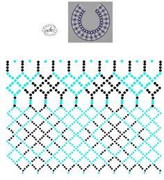 Two Collar Collar Diy Necklace Patterns, Beaded Jewelry Patterns, Beading Tools, Beading Tutorials, Beading Patterns Free, Beading Techniques, Jewelry Making Beads, Bead Art, Bead Weaving