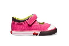 See Kai Run Sneakers Danika $36.50 http://www.meandmyfeet.com/See-Kai-Run-Sneakers-Danika #Infant #Toddler #Shoes #Pink #Sneakers