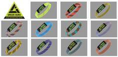 green guru, bracelet bresilien pour homme en corde recyclee