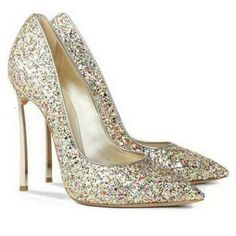 79,90EUR High heels Glitzer bunt
