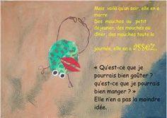 La grenouille à grande bouche - la maternelle de Camille
