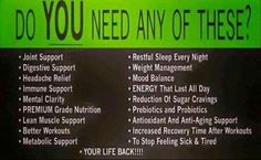 Thrive can help!  Www.Hpb329.Le-Vel.com