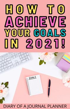 Achieve all your goals in 2021 with these genius goal setting ideas for bullet journals! #bulletjournal #goalsetting #bulletjournalgoals #goals #bujo Bullet Journal Goals Layout, Bullet Journal Hacks, Bullet Journal Printables, Bullet Journal Inspiration, Bullet Journals, Best Daily Planner, Daily Planners, Sticker Organization, Weekly Planner Template