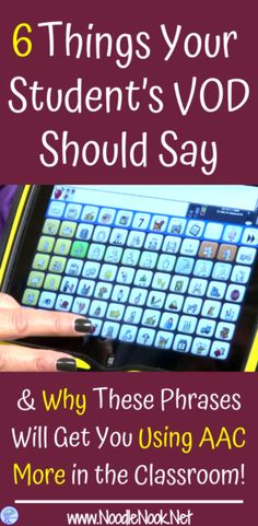 Are you looking for more ways to build vocabulary with students who use AAC devices? We've got some great ideas for you!