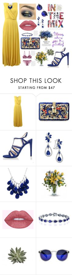 """""""Importance of Accessories"""" by christinadrussell ❤ liked on Polyvore featuring Cédric Charlier, Dolce&Gabbana, Prada, Effy Jewelry, Ten Thousand Things and Spitfire"""