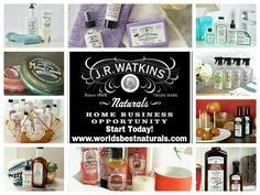 Become a JR Watkins rep - only $19.95 - Sign up at www.worldsbestnaturals.com