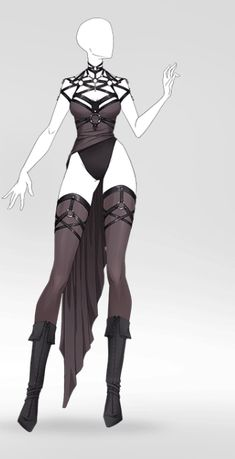 Super Hero Outfits, Super Hero Costumes, Anime Outfits, Cool Outfits, Poses, Drawing Anime Clothes, Illustration Mode, Clothing Sketches, Anime Dress