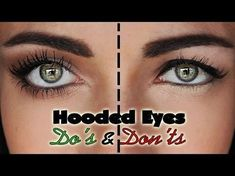 A makeup tutorial on the things you want to avoid with downturned, droopy hooded eyes, and some tips and tricks. Do's and Don'ts for hooded droopy eyes For t... #Eyemakeuptipsandtricks
