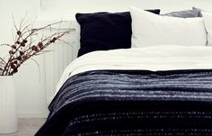 Beautiful black and white apartment