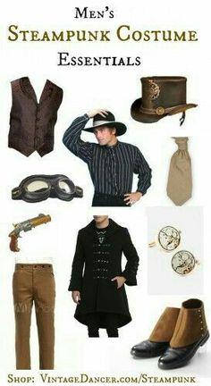 Men's Steampunk Essentials