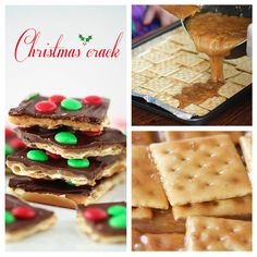 BEST Christmas Crack Toffee Recipe (only 15 mins!) - I Heart Naptime BEST Christmas Crack Toffee Recipe (only 15 mins!) - I Heart Naptime Christmas Snacks, Christmas Cooking, Noel Christmas, Holiday Treats, Holiday Recipes, Christmas Crackers, Christmas Candy, Easy Christmas Appetizers, Xmas