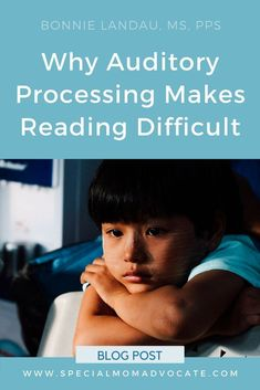 Auditory processing disorder can affect the basic abilities needed to learn how to read. Understand how APD affects reading and what you can do to overcome the challenges. Auditory Processing Activities, Auditory Processing Disorder, Auditory Learning, Articulation Activities, Therapy Activities, Phonics, Preschool Special Education, Gifted Education, Autism Education