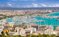I'm thinking beach day for Palma, Majorca