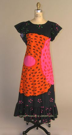 Marimekko 1973 Would this be great as intarsia or horrifying? In either event, the colors rock.