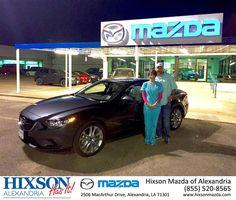 #HappyBirthday to Christie from Brandon Holloway at Hixson Mazda of Alexandria!  https://deliverymaxx.com/DealerReviews.aspx?DealerCode=PSKP  #HappyBirthday #HixsonMazdaofAlexandria