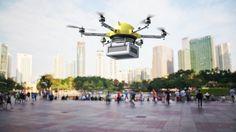 Amazon to begin testing new delivery drones in the US [Future Drones: http://futuristicnews.com/tag/drone/ Drones for Sale at Amazon: http://futuristicshop.com/tag/drone/]