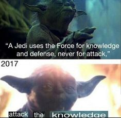 Well Yoda escalated quickly...
