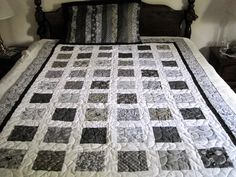 twin size quilt &  pillow case -  pillow case was a  great way to use up those scraps, that seem to mulitply ..