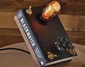 Book Lamp Blackwater Hardbound Book
