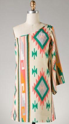 Blake Navajo Dress www.womensboutiqueclothing.com