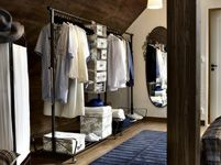 Bedroom Furniture - Beds, Mattresses & Inspiration - IKEA!!! I love the old fashion attic look
