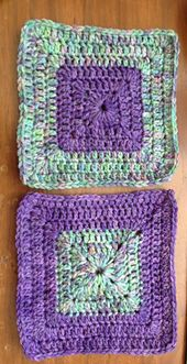 Ravelry: KAS Solid Granny Square free pattern by Rona Malewit