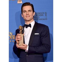 Best Supporting Actor (series,miniseries,TV movie) Matt Bomer with grooming by David Cox