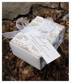 Large Chocolate Truffle Box - Bonbonniere Gallery - Huetopia Design