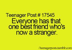 Sadly that's all my best friends :*( post quotes, funny quotes, teen l Teenager Posts Crushes, Teenager Quotes, Teen Quotes, Post Quotes, Life Quotes, Funny Quotes, Muscle, Teen Life, Teen Posts