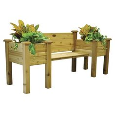 Gronomics Planter Bench - Finished
