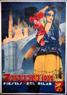 Cartel Pilar 1934 Titulo: De mi pueblo
