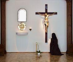 "venisanctespiritusveni: "" Discalced Carmelite nun in Wrocław, Poland. """