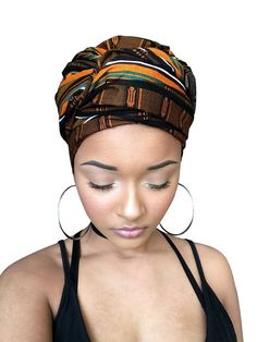 African Headwrap kente scarves Ankara Headwraps kente by GCCBeauty