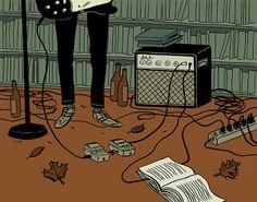 James Kimrey Hindle - Illustration and Comics