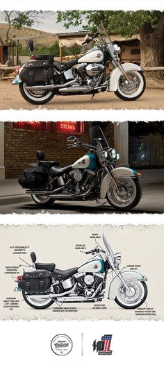 Defy the wind. | 2016 Harley-Davidson Heritage Softail Classic