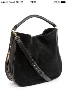 41e74620420944 Large H M hobo bag. Large H M classic hobo bag. Used a handful of times .  One side suede and the other faux leather. Soft and amazing bag❤ .